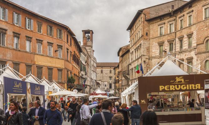 Eurochocolate Perugia - Casale Poggio Colpiccione